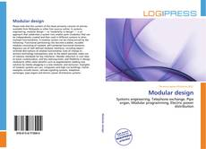 Bookcover of Modular design