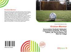 Bookcover of Kristian Marmor