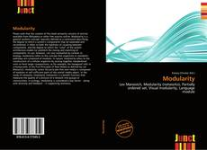 Bookcover of Modularity