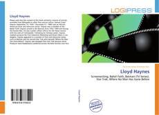 Lloyd Haynes的封面