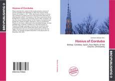 Bookcover of Hosius of Corduba