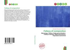 Bookcover of Fallacy of composition