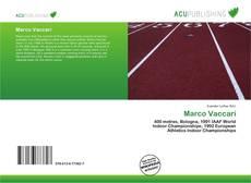 Marco Vaccari kitap kapağı