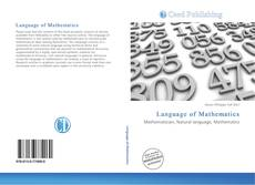 Bookcover of Language of Mathematics