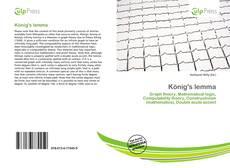 Buchcover von König's lemma