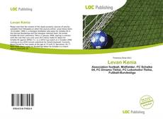 Bookcover of Levan Kenia