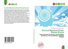Bookcover of Ancient Mystical Order Rosae Crucis