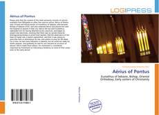 Bookcover of Aërius of Pontus