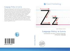 Bookcover of Language Policy in Latvia