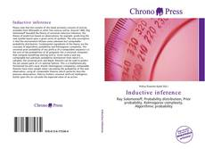 Bookcover of Inductive inference
