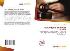 Bookcover of José Antonio Primo de Rivera