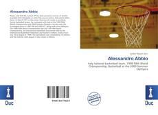 Portada del libro de Alessandro Abbio