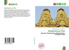 Bookcover of Ballaleshwar Pali