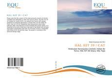 Bookcover of HAL HJT 39 / CAT
