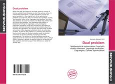 Bookcover of Dual problem