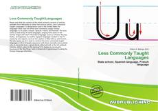 Bookcover of Less Commonly Taught Languages