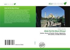 Bookcover of Abū-Sa'īd Abul-Khayr