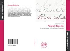 Bookcover of Korean Dialects