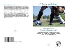 Portada del libro de Mario Gavranović