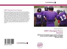 Capa do livro de 2007 Georgia Force Season