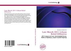 Late March 2011 Libyan Rebel Offensive kitap kapağı