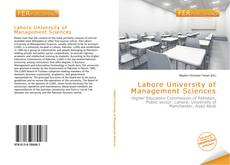 Bookcover of Lahore University of Management Sciences
