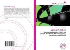 Leonid Kinskey kitap kapağı