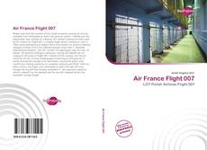 Capa do livro de Air France Flight 007