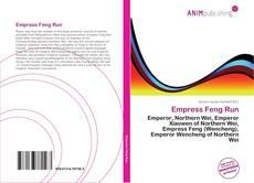 Portada del libro de Empress Feng Run
