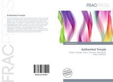 Bookcover of Kalikambal Temple