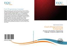 Capa do livro de Cool (Programming Language)