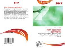 John Beaumont (geologist) kitap kapağı