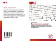 Capa do livro de Branch-decomposition