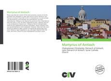 Buchcover von Martyrius of Antioch
