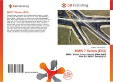 Couverture de BMW 7 Series (E23)