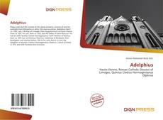 Capa do livro de Adelphius