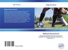 Capa do livro de Mikheil Khutsishvili
