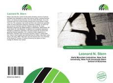 Buchcover von Leonard N. Stern