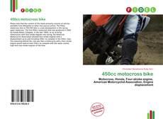 Bookcover of 450cc motocross bike