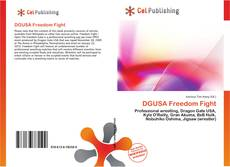 Bookcover of DGUSA Freedom Fight