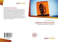 Bookcover of Cabinet of Sierra Leone