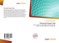 Capa do livro de Formula Super Vee