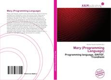 Capa do livro de Mary (Programming Language)