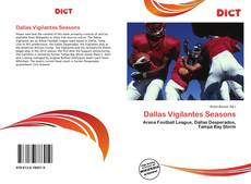 Portada del libro de Dallas Vigilantes Seasons