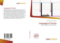 Buchcover von Languages of Tunisia