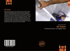 Bookcover of Ali Salem