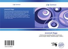Bookcover of Jeremiah Riggs