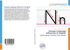 Обложка Foreign Language Influences in English