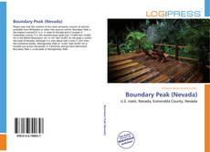 Capa do livro de Boundary Peak (Nevada)