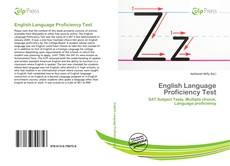 Capa do livro de English Language Proficiency Test